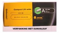 Continental Binnenband 20x190-2.125  autoventiel (40)