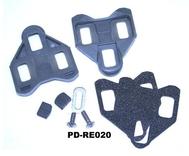 Campagnolo Schoenplaat  m/speling grijs pd-re020 set achter 2