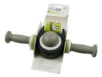 QIBBEL  Duoonderdeel  toybar met grijze handvatten