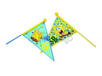 OVERIG Vlag spongebob