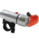 IKZI verlichtingset, koplamp 5 led en achterlicht 3 led
