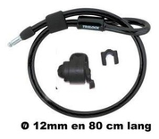 Trelock Slot  kabel zr300 80x12 insteek m/houder
