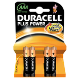 Duracell kaart batterij plus power lr3 1.5v aaa (4)