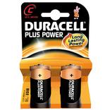 Duracell kaart batterij plus power lr14 1.5v c (2)