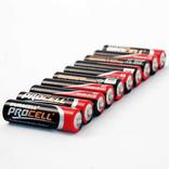 Duracell batterijen procell lr6 aa penlite 1,5v doos a10