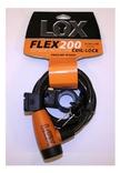 lox Slot  kabel flex 200 185x12 m/houder zwart