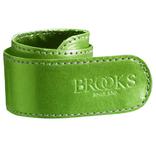 Brooks broekklem leer appel groen, met doosje