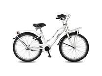 "Fiets bike fun 24""crazy cruisers meis 3 wit/zwart E24CM65"