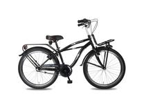 "Fiets bike fun 24"" crazy cruiser jongen 3v zwart E24CJ55"