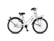 "Fiets bike fun 24"" crazy cruisers meisj wit/zwart E24CM60"