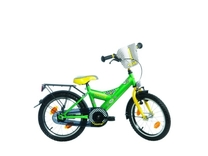 "Fiets bike fun  18"" rookie city jongens groen/geel Rookie 18rk70"