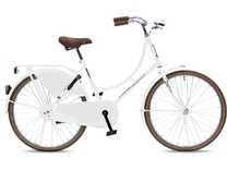 "Fiets bike fun  24""  oma remnaaf wit toer-tour 240MA-1"