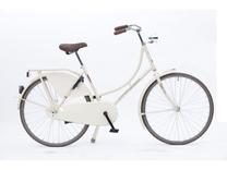 "Fiets bike fun  26""  oma remnaaf creme toer-tour 260MA-1  48cm"