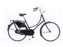 "Fiets bike fun  26""  oma remnaaf zwart toer-tour 260MA-1 48cm"
