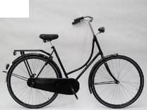 "Fiets bike fun 28""  Oma remnaaf zwart toer/tour 280MA-1 57cm velg zwart"