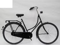 "Fiets bike fun 28""  Oma remnaaf zwart toer/tour 280MA-1 50cm velg zwart"