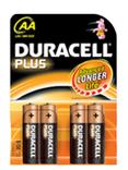 Duracell kaart batterij plus power lr6 1.5v aa (4)