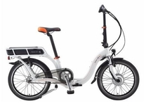 "Fiets Dahon 20"" Ciao electric pure white naafversnelling 7 speed E bike"