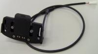 Gazelle Display houder incl.kabel zwart