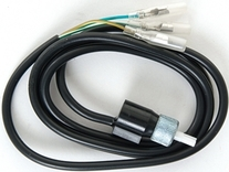Daytona Velona Adapter Snelheidskabel M12 x 1,0 mm Binnenliggend schroefdraad, kabel met gleuf