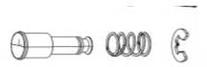 DERAD SRAM CAGE LOCK M/VEER