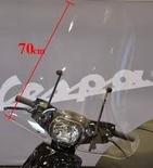 Windscherm Hoog Piaggio Zip 50/100/125 Helder
