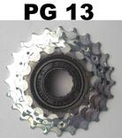 SUNRACE  Kw freewheel  5sp 14 - 24t bruin