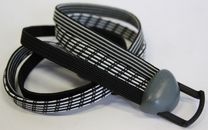 Gazelle Snelbinder power vision zwart/zilver