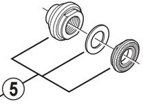 Shimano Sluitmoer unit rechts model: 2010 groep: ultegra wh-6700-r