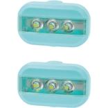 UP Clip Fietslampjes set Ocean blauw