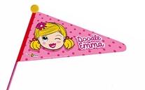 Fietsvlag Doodle Emma