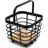 Cortina Montreal Basket Metal square Black Matt+AVS