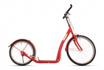 "Autoped 20"" Bike-2-Go - Rood"