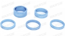 "SPACER SET CONTEC SELECT 1 1/8"" BLUE"