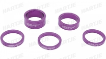 "SPACER SET CONTEC SELECT 1 1/8"" PURPLE"