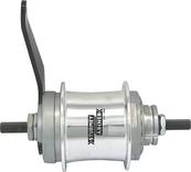 SA S2C Duomatic 2-versnellings ALU 32gts 22T + moeren zilver