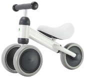 """PexKids kinder loopfiets / scooter Tribike 6"""" staal wit"""
