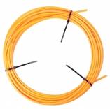 Schakel buitenkabel Elvedes met voering / Ø4,2mm - neon oranje (30 meter in doos)
