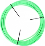 Schakel buitenkabel Elvedes met voering / Ø4,2mm - neon groen (30 meter in doos)