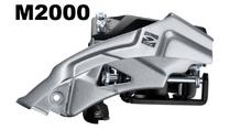 Voor derailleur Shimano Altus FD-M2000 3-Speed Top Swing 66-69