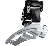 Voor Derailleur Shimano Altus FD-M2000 3-Speed Down swing DUAL 66-69