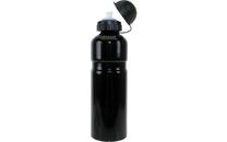 Bidon aluminium 750 ml - zwart