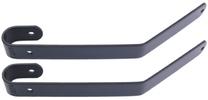 Stuurbeugelset Steco Comfort extra lang - mat zwart