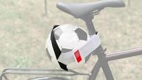 Voetbal Houder Voor op de fiets