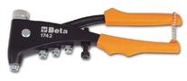 Blindklinktang Beta Tools 1742 voor blindklinkmoeren incl. verwisselbare mondstukken (1x M3+M4+M5+M6)