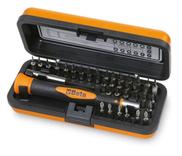 Microschroevendraaier Beta 1256/C36 met 36 verwisselbare 4-mm bits en magnetisch verlengstuk 1256/C36