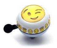 Widek bel Ding Dong Emoticon knipoog