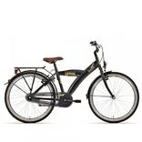 Jongensfiets Bike Fun Urban 20 Inch Remnaaf Zwart