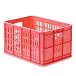 Basil transport krat klein fluor rood