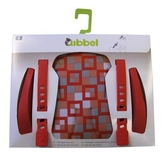 Qibbel Styling Set Luxe Voorzitje Checked Red